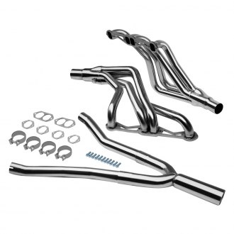 Torxe™ - Polished Mid-Length Tube Exhaust Headers