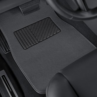 Torxe® - DELUXE Heavy Duty Carpeted Floor Mats with Heel Pad