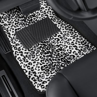 Torxe® - Leopard Style Carpeted Floor Mats with Heel Pad