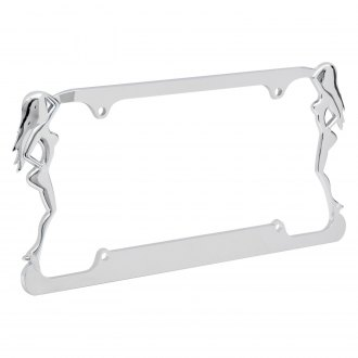 Torxe® - Beach Ladies License Plate Frame