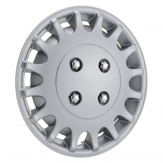 "Torxe® - 13"" Silver Wheel Cover Set"