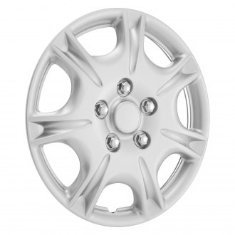 "Torxe® - 15"" Silver Wheel Cover"
