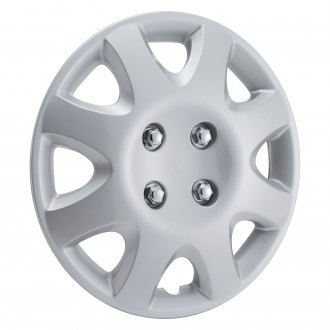 "Torxe® - 14"" 8 Spokes Silver Wheel Cover Set"