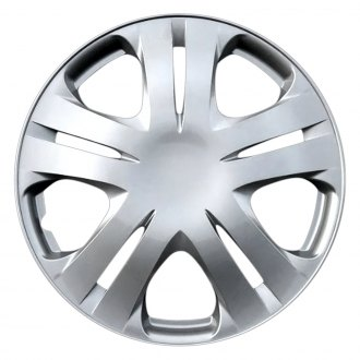 "Torxe® - 15"" 5 Double Spokes Silver Wheel Cover Set"