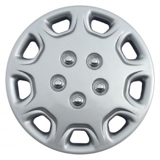 "Torxe® - 14"" 9 Holes Silver Wheel Cover Set"