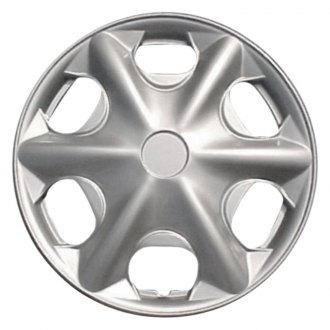 "Torxe® - 15"" 6 Holes Silver Wheel Cover Set"