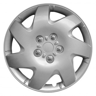 "Torxe® - 16"" 7 Spokes Silver Wheel Cover Set"
