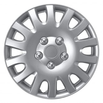 "Torxe® - 14"" Silver Wheel Cover Set"