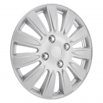 "Torxe® - 15"" 11 Spokes Silver Wheel Cover Set"