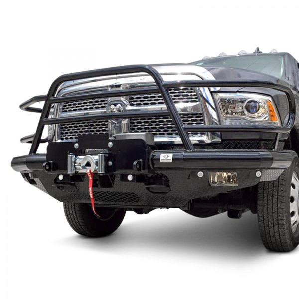 tough country dodge durango 1998 2003 deluxe front winch bumper with euro bar and cross bar. Black Bedroom Furniture Sets. Home Design Ideas
