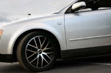 TOUREN® - TR60 Black with Machined Face on Audi A4