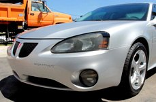 TOUREN® - TR9 Hyper Silver on Pontiac Grand Prix