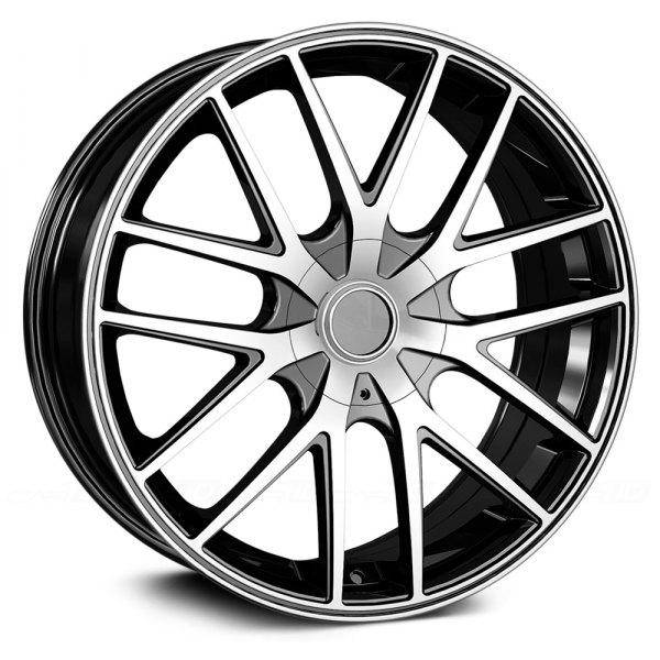 TOUREN® TR60 Wheels - Black with Machined Face Rims