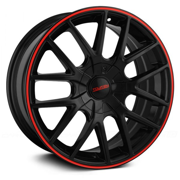 TOUREN® - TR60 Black with Red Ring