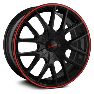 TOUREN® - TR60 3260 Black with Red Ring