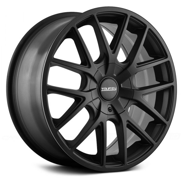 60 Inch Rims On Car : Touren tr wheels matte black rims
