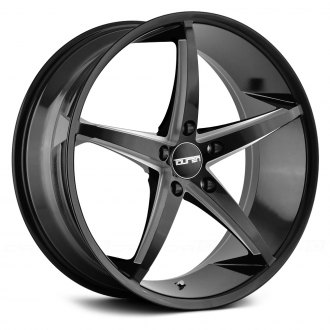 TOUREN® - TR70 3270 Black with Milled Accents