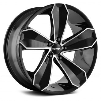 TOUREN® - TR71 3271 Gloss Black with Machined Face