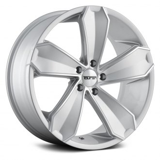 TOUREN® - TR71 3271 Silver with Milled Accents