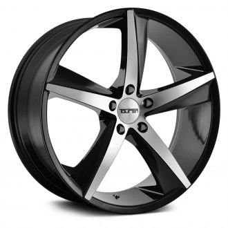 TOUREN® - TR72 3272 Gloss Black with Machined Face
