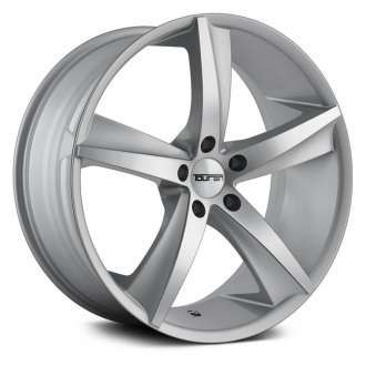 TOUREN® - TR72 3272 Silver with Milled Accents
