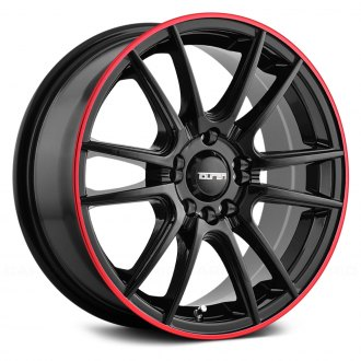 TOUREN® - TR77 Black with Red Ring