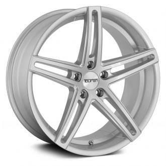 TOUREN® - TR73 3273 Silver with Milled Accents