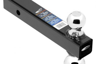 "Tow Ready® 80798 - Fusion Dual-Ball Mount for 2"" Receivers (With 2"" and 2-5/16"" Chrome Hitch Balls)"