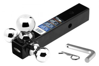 "Tow Ready® - Fusion Tri-Ball Mount for 2"" Receivers"