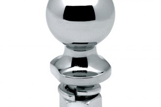"Hidden Hitch® 63820 - 2"" Chrome Trailer Hitch Ball (3500 lbs GTW, 1-1/2"" Shank Lenght, 3/4"" Shank Diameter)"