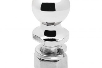 "Tow Ready® 63840 - 2-5/16"" Chrome Trailer Hitch Ball (20000 lbs GTW, 2-3/4"" Shank Lenght, 1-1/4"" Shank Diameter)"