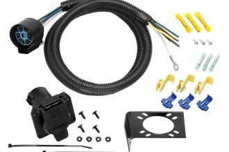 Tow Ready® - 4' 7-Way U.S. CarTrailer Wiring Harness