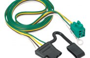 TOW READY� - 4-Flat Replacement OEM Tow Package Wiring Harness