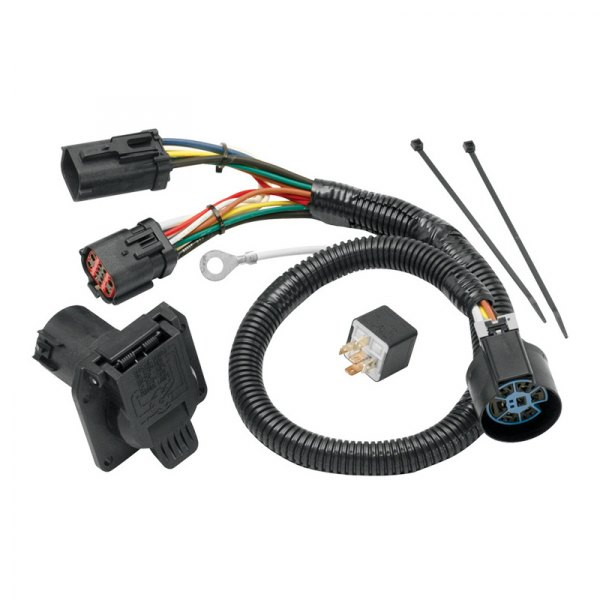 tow ready 174 118247 ford f 150 2004 7 way replacement oem tow package wiring harness