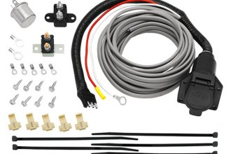 Tow Ready® - 7-Way Flat Pin Connector with Brake Control Wiring