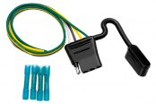 Tow Ready® - 4-Flat Car End with Wiring Kit