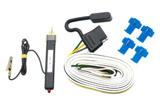 Tow Ready® - 4-Flat Wiring Kit Car End Connector