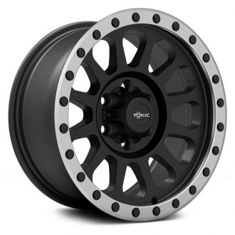 TOXIC® - EPIDEMIC Satin Black Center with Machined Beadlock