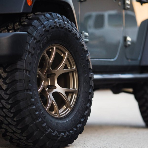 TOYO® - Open Country On Jeep Wrangler