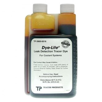 Tracer Products® - Dye-Lite™ Engine Coolant and Auto Body Leak Check Dye, 16 oz, 1 Piece