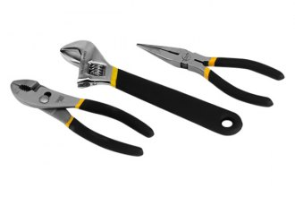 Trades Pro® - Pliers and Adjustable Wrench Set