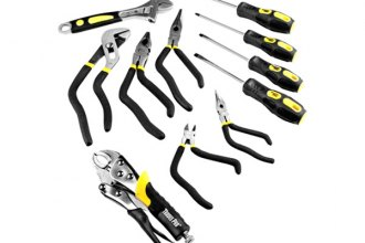 Trades Pro® - 11 Pc Pistol Grip Pliers and Screwdriver Set