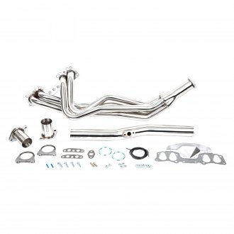 Trail-Gear® - Rock Ripper™ Toy Stainless Steel Polished Long Tube Exhaust Header