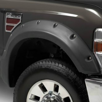 TrailFX® - Pocket Black Front and Rear Fender Flares