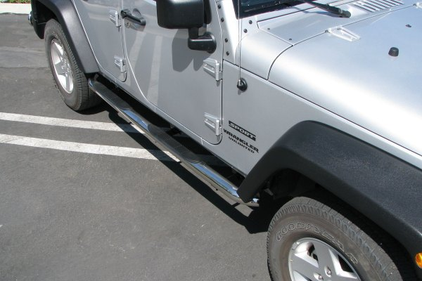 trailfx jeep wrangler 2013 3 round side steps. Cars Review. Best American Auto & Cars Review