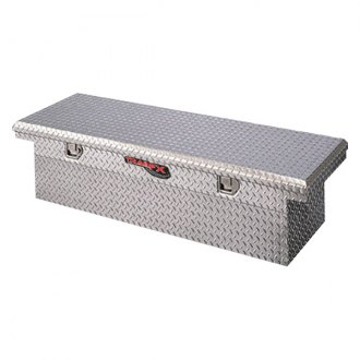 TrailFX® - Low Profile Angled Single Lid Crossover Tool Box with Struts