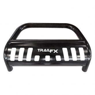 "TrailFX® - 3"" Black Bull Bar with Skid Plate"