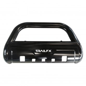 "TrailFX® - 3-1/2"" Black Bull Bar with Skid Plate"