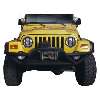 TrailFX® - Rock Crawler Full Width Front Tubular Bumper with Pre-Runner Guard