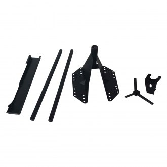 TrailFX® - Black Spare Tire Carrier
